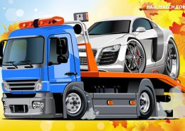 Amazing tow truck in action