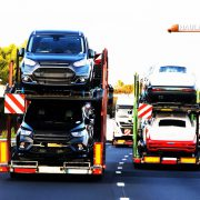 A car carrier trailer