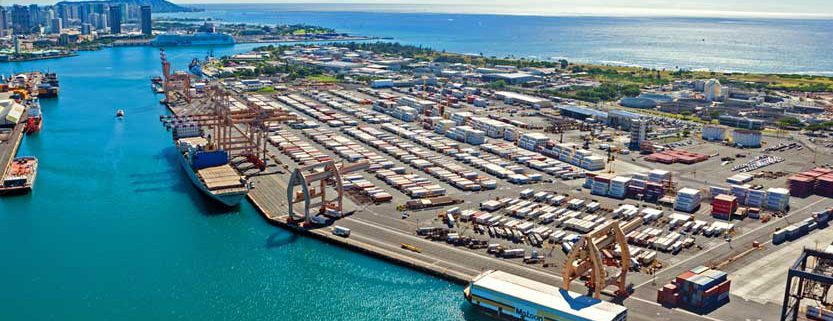 Hawaii shipping port